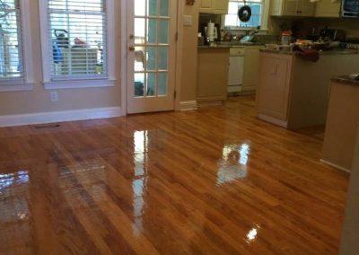 After hardwood floor resurfacing in baltimore, md