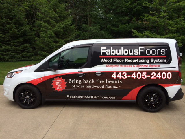Fabulous Floors Baltimore van