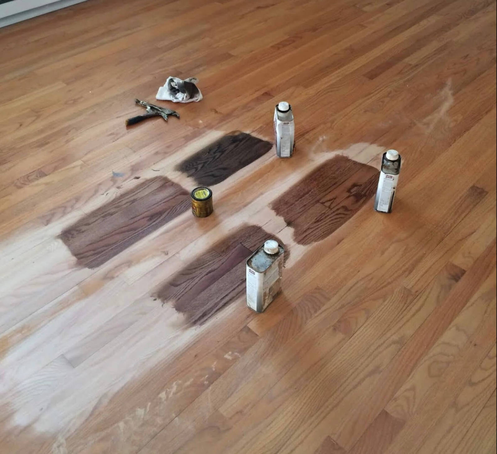 Hardwood staining in Baltimore